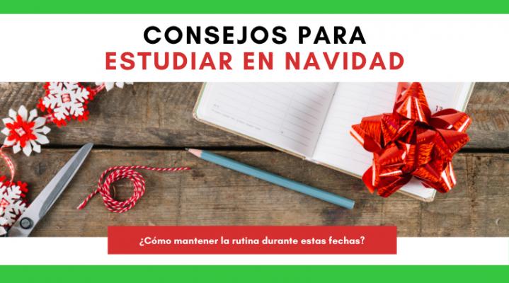 Cabecera blog consejos para estudiar en Navidad