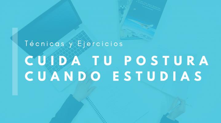 Cabecera: Cuida tu postura cuando estudias