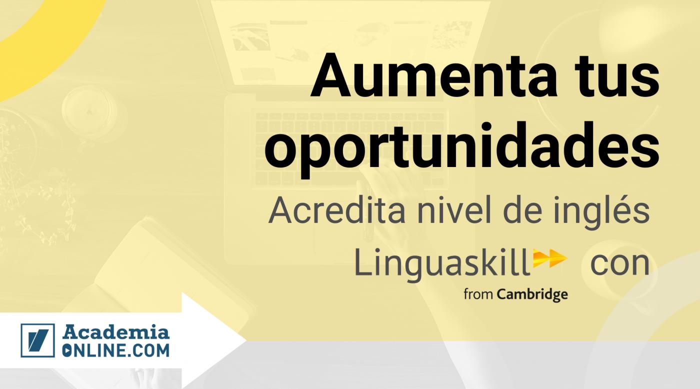 Acreditación inglés de Linguaskill